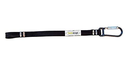 Lockstraps 901 Helmet Lock, Black, 2 feet