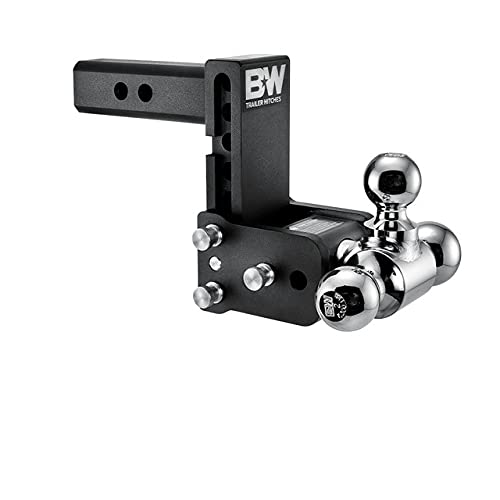 B&W Tow & Stow - Fits 2' Receiver, Tri-Ball...