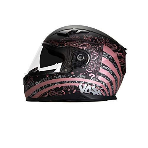 Voss 988 Moto-1 Full Face Helmet Womens...
