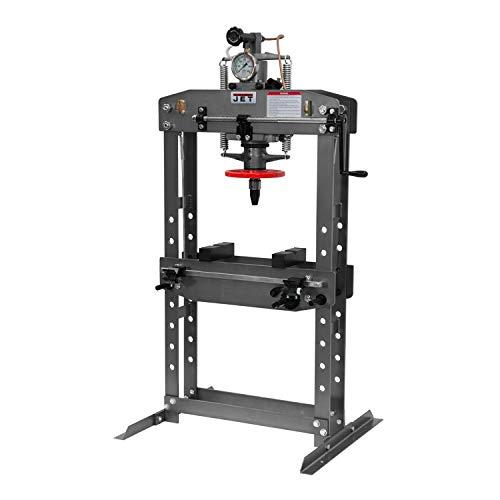 JET HP-15A, 15-Ton Hydraulic Shop Press...