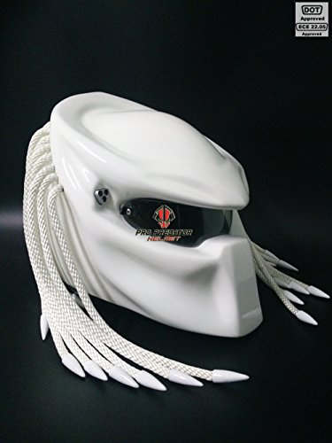 Pro Predator Motorcycle DOT Approved White...
