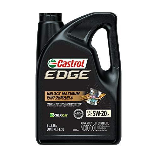 Castrol 03083 Edge 5W-20 Advanced Full...
