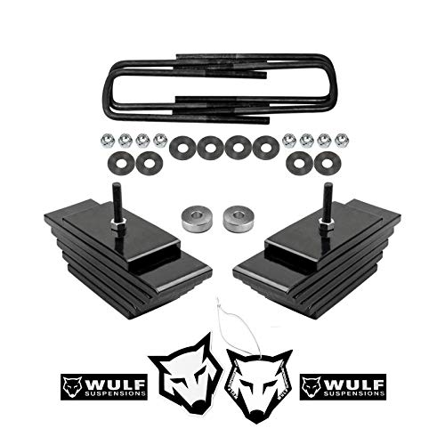 WULF 3' Front Leveling Lift Kit compatible...