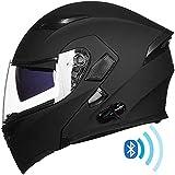 ILM Bluetooth Motorcycle Helmet Modular Flip...
