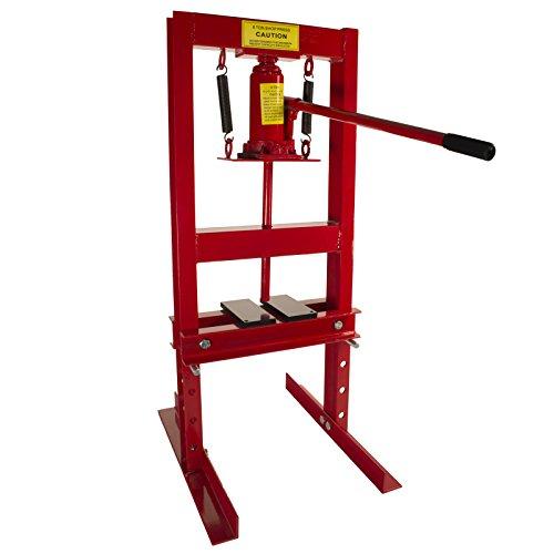 Dragway Tools 6-Ton Hydraulic Shop Floor...
