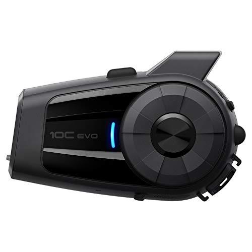 Sena 10C EVO Motorcycle Bluetooth Camera &...