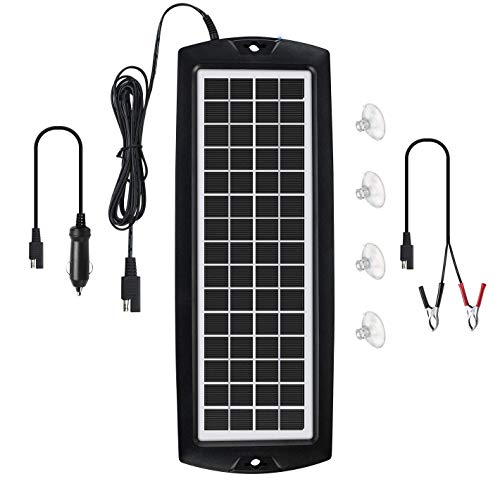 Sunway Solar Car Battery Trickle Charger &...