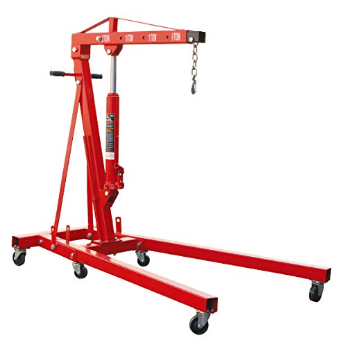 BIG RED T32001 Torin Steel Garage/Shop Crane...