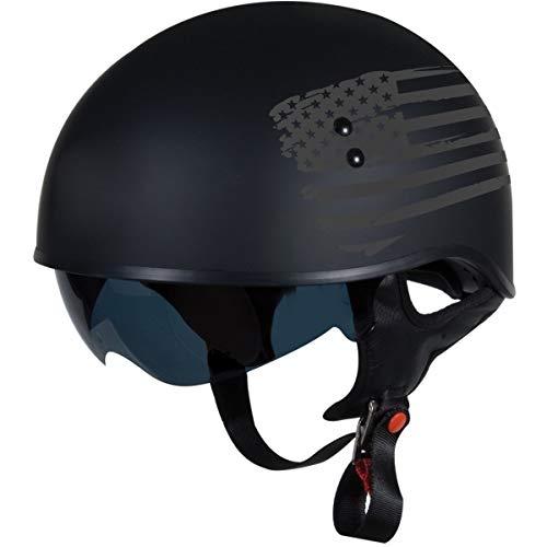 """TORC T55 Spec-Op Half Helmet with 'Flag""""..."""