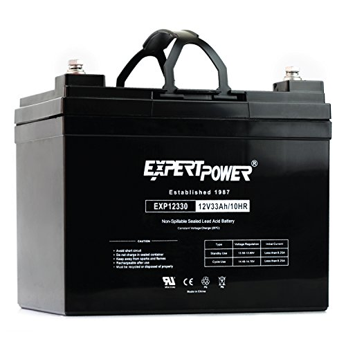 ExpertPower 12v 33ah Rechargeable Deep Cycle...