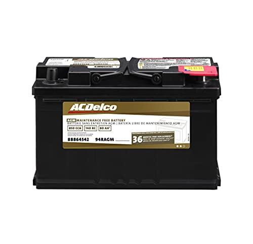 ACDelco Gold 94RAGM 36 Month Warranty AGM BCI...