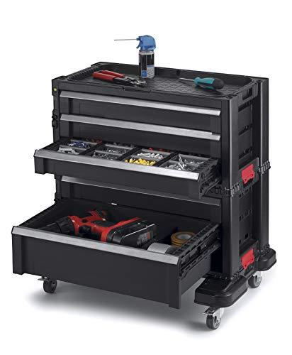 Keter 240762 5 Drawer Modular Garage & Tool...