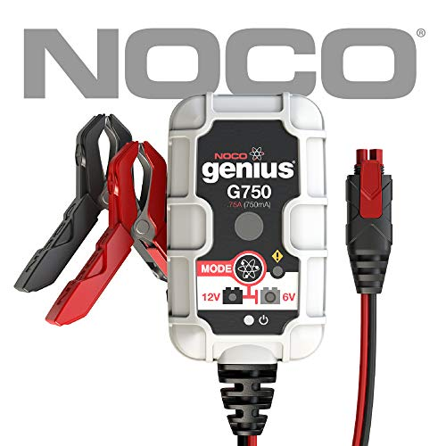NOCO Genius G750 6V/12V .75 Amp Battery...