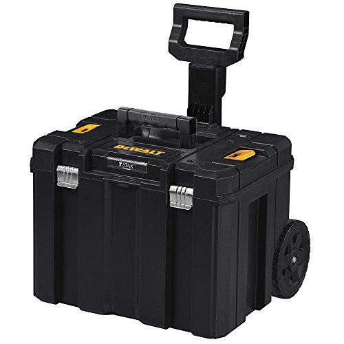 DEWALT Tool Box with Wheels, TSTAK, Deep Box...