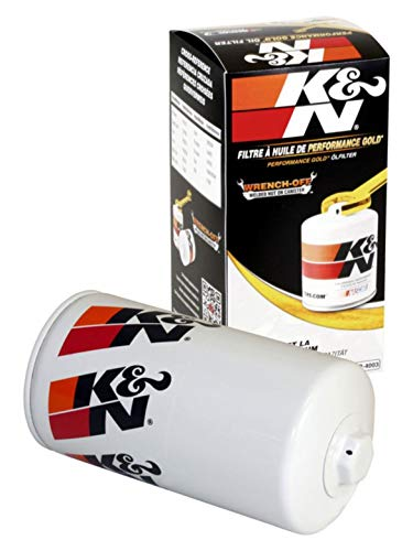 K&N Premium Oil Filter: Protects your Engine:...