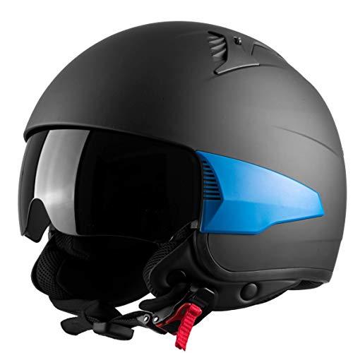 Westt Rover Motorcycle Helmet - Open Face...