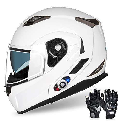 FreedConn Motorcycle Bluetooth Helmet BM2-S...