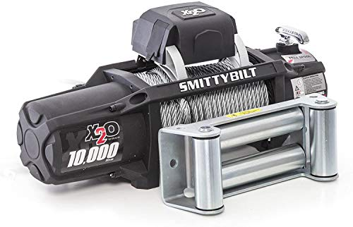 Smittybilt X2O - Waterproof Steel Cable Winch...