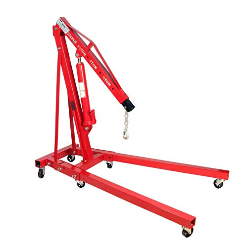 Dragway Tools 2 Ton Folding Hydraulic Engine...