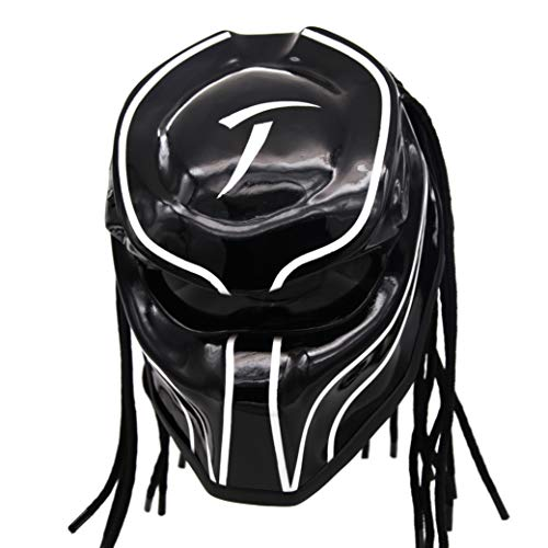 Predator Motorcycle Helmet - DOT Approved -...