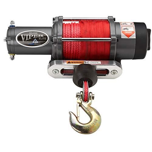 MotoAlliance VIPER Elite UTV Winch 4500lb- 65...