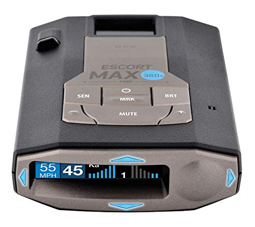 Escort MAX360C Laser Radar Detector - WiFi...
