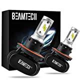 BEAMTECH H13 LED Bulb, 50W 6500K Extremely...