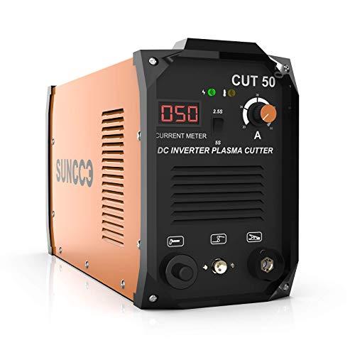 SUNCOO 50 Amp Plasma Cutter 110/220V,...