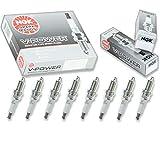 8 pcs NGK V-Power Spark Plugs for 2002-2007...