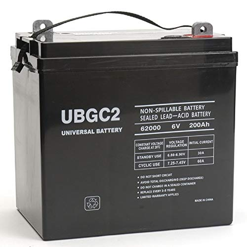 Universal Power Group UBGC2 Sealed AGM Deep...