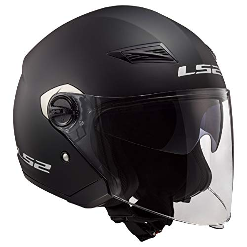 LS2 Helmets Open Face Track Helmet (Matte...