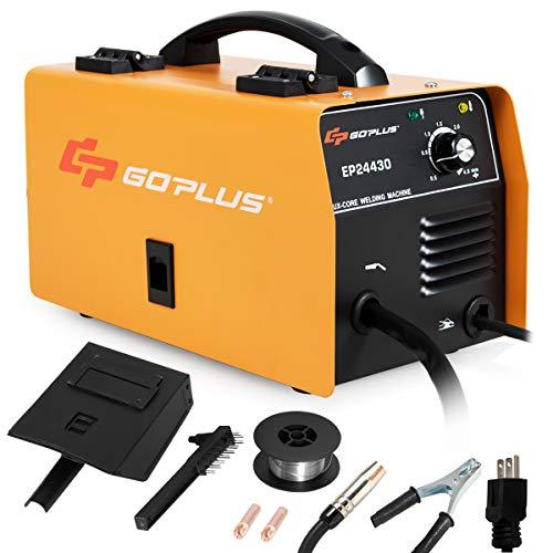 Goplus No Gas 130 MIG Welder, IGBT Inverter...