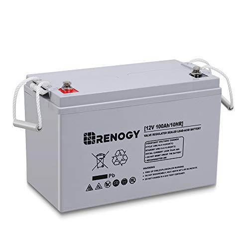 Renogy Deep Cycle AGM Battery 12 Volt 100Ah...
