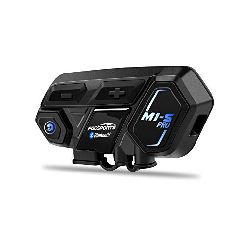 Motorcycle Bluetooth Intercom, Fodsports M1S...