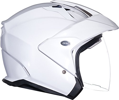 Bell Mag-9 Open Face Motorcycle Helmet (Solid...