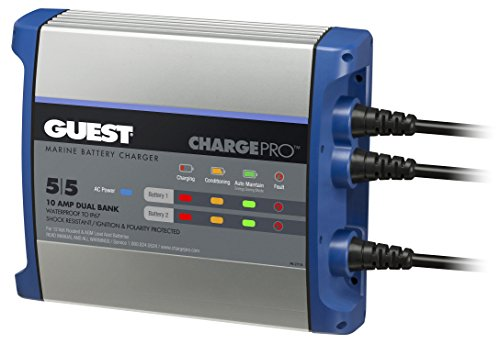 Guest On-Board Battery Charger 10A / 12V; 2...