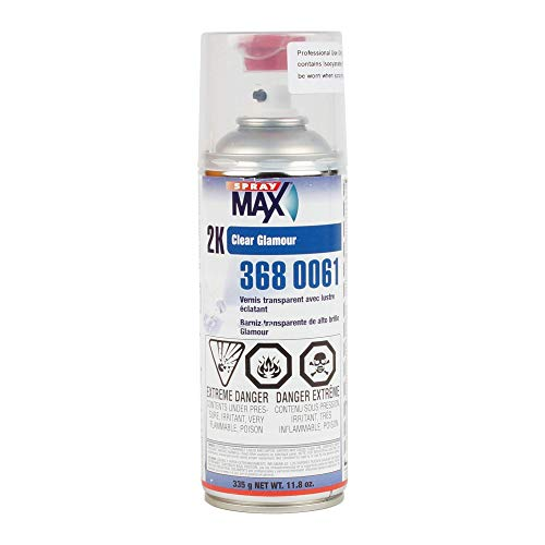 Spray Max 2K High Gloss Finish Clear Coat...