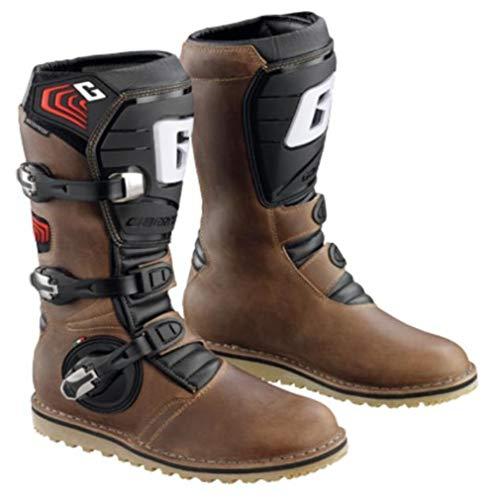 Gaerne Balance Oiled MX Boots Brown 12 USA