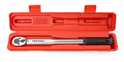 TEKTON 3/8 Inch Drive Click Torque Wrench...