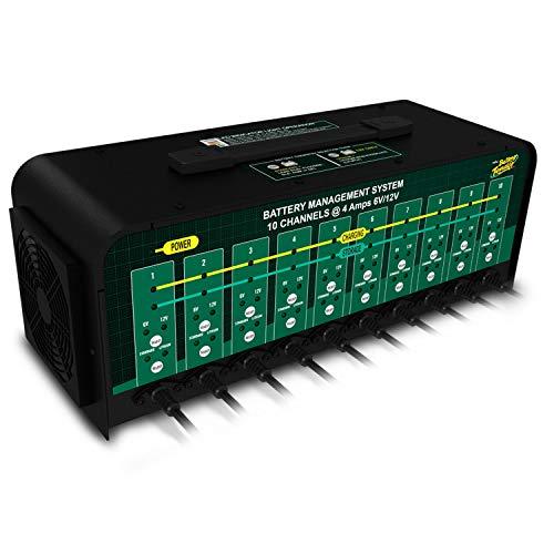 Battery Tender 10-Bank Charger: Selectable 6V...