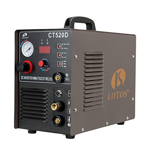 Lotos CT520D 50 AMP Air Plasma Cutter, 200...
