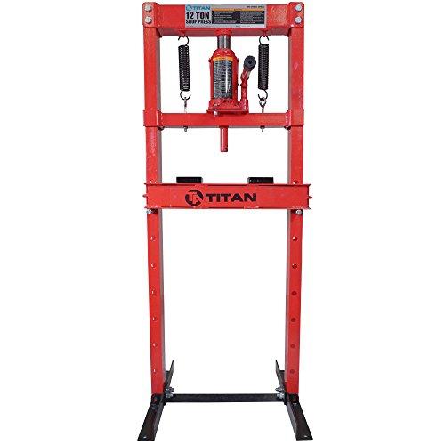 Titan 12 Ton Hydraulic Shop Floor Press H...