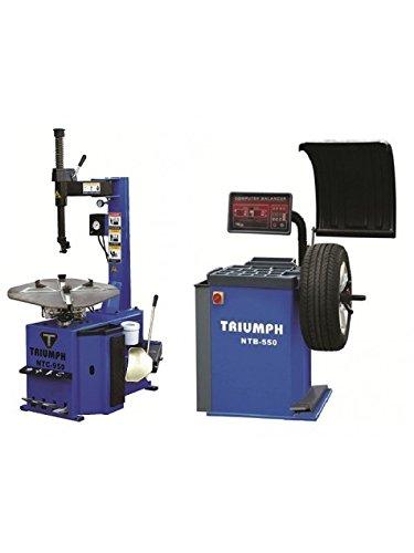 TRIUMPH NTC-950 & NTB-550 Tire Changer Wheel...