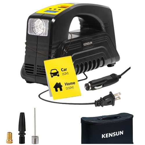 Kensun AC/DC Digital Tire Inflator for Car...