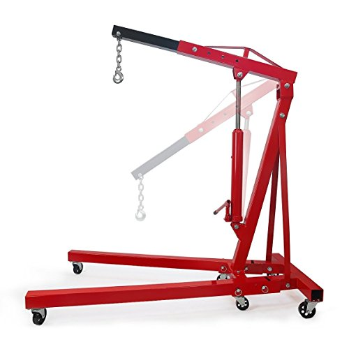 Stark 2 Ton Engine Hoist Stand Cherry Picker...
