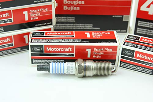 Pack of 8 Genuine Motorcraft Spark Plug...