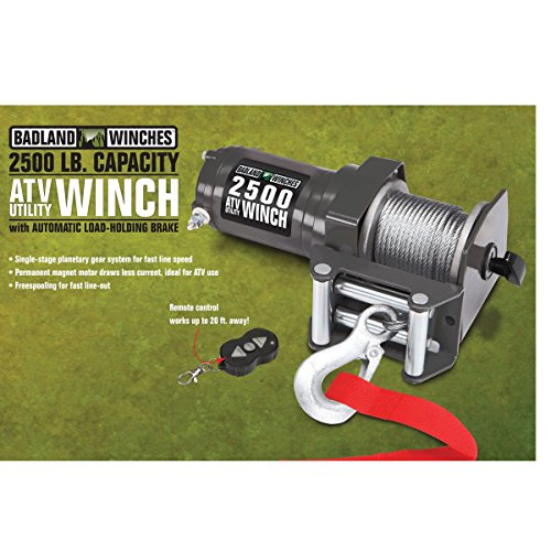 2500 lb. Electric ATV/Utility Winch with...