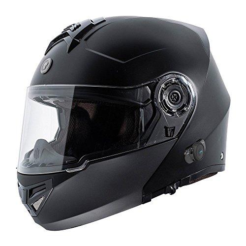 TORC T27B1 FBK M T27 Full Face Modular Helmet...