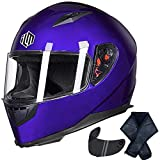 ILM Full Face Motorcycle Street Bike Helmet...