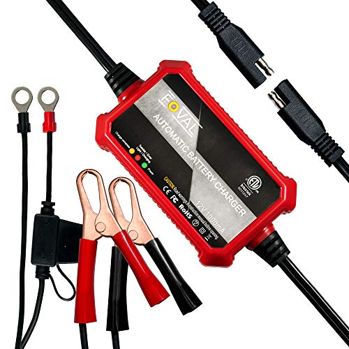Foval Automatic Trickle Battery Charger 12V...